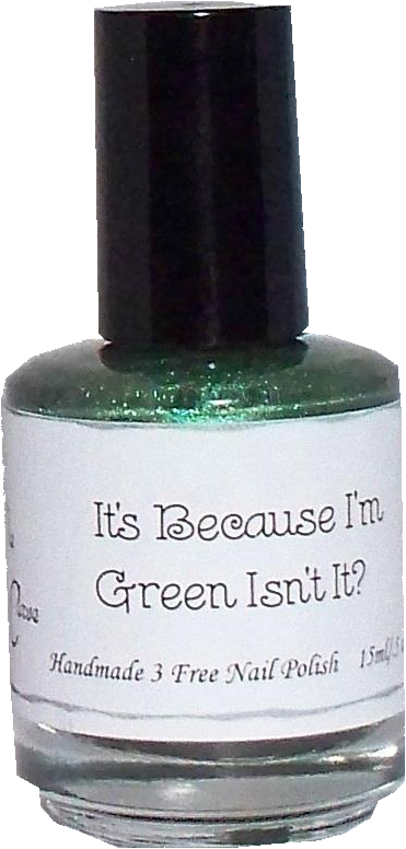 It's because I'm Green. Isn't it ?