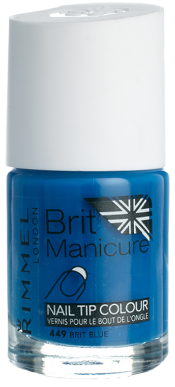 Bright Blue nail tip