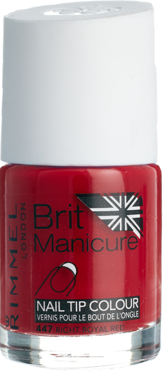 Right royal red nail